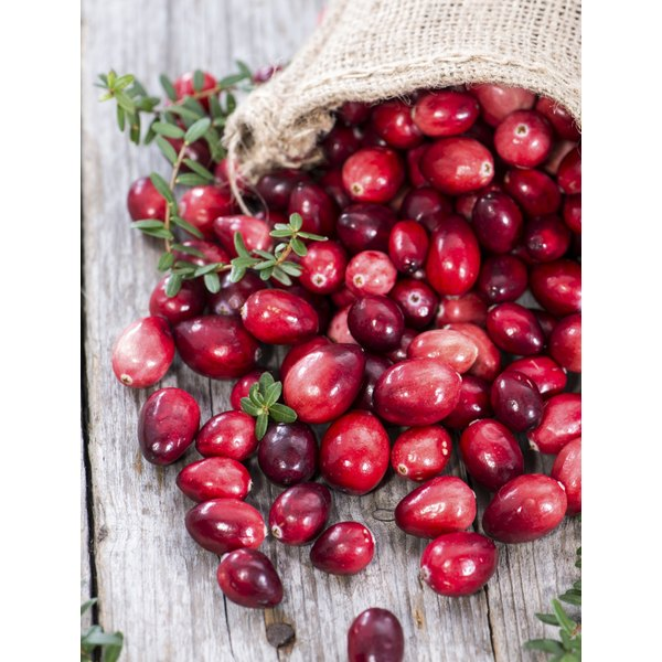 Cranberries contain vitamin C, which can help boost your immune system.