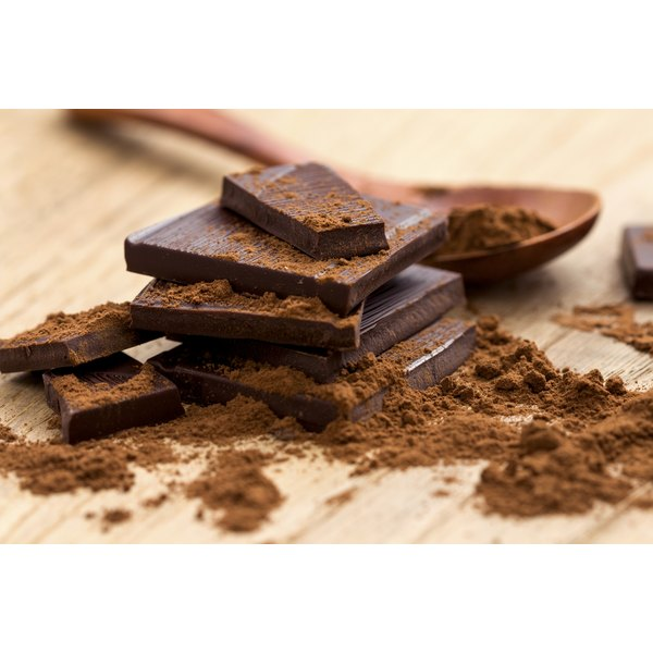 Dark chocolate offers more minerals than cocoa butter does.