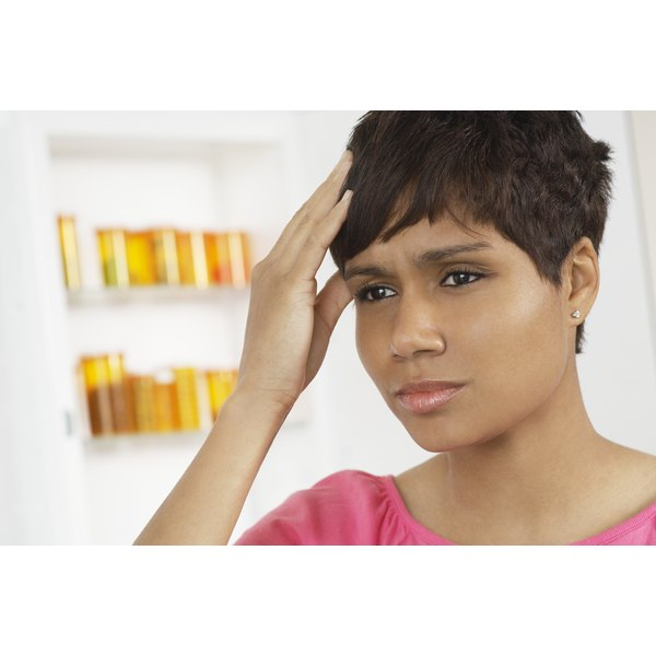 Belara can cause headache symptoms to occur in some women.