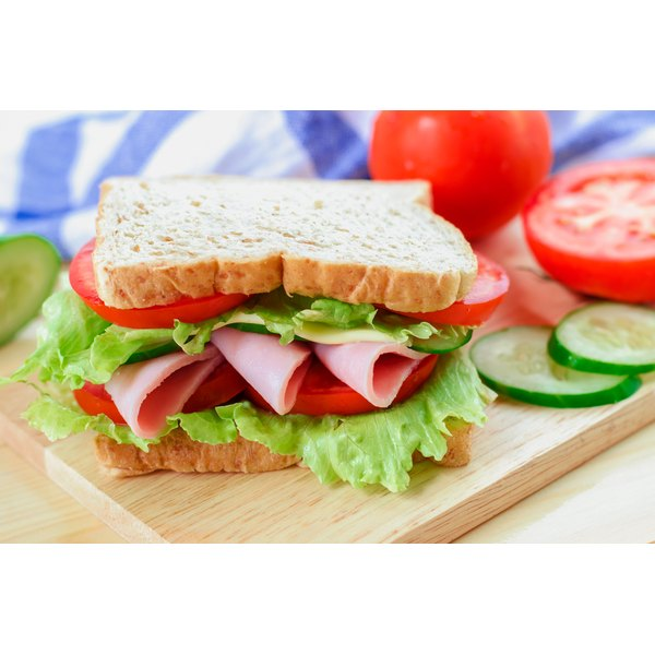 Turkey and ham are popular sandwich fillers.
