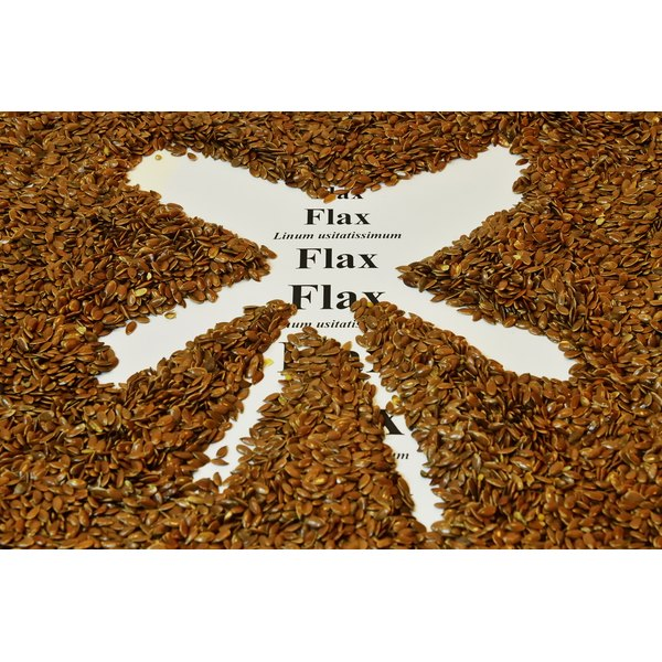Flaxseeds must be ground into meal in order to be digested.