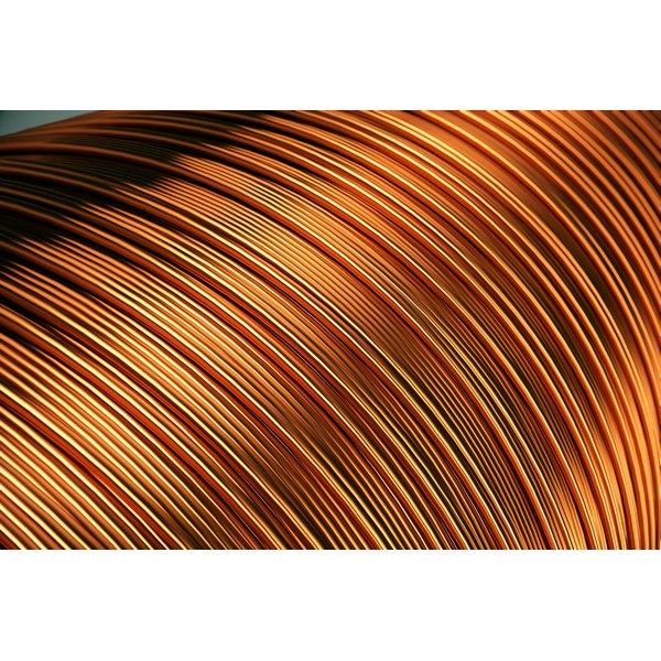 A massive bale of copper wire.