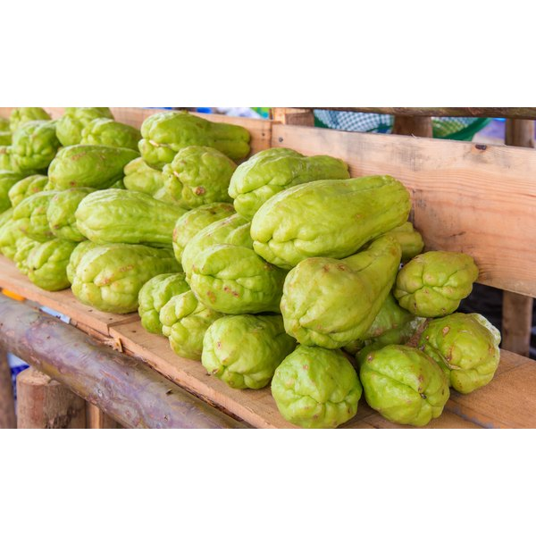 Chayote requires assertive seasoning due to its bland flavor.
