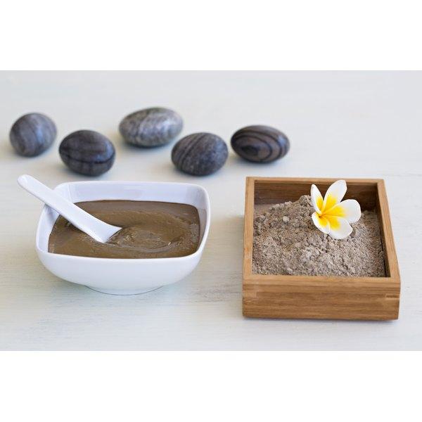 Mud is used in the Rasul bathing ritual.