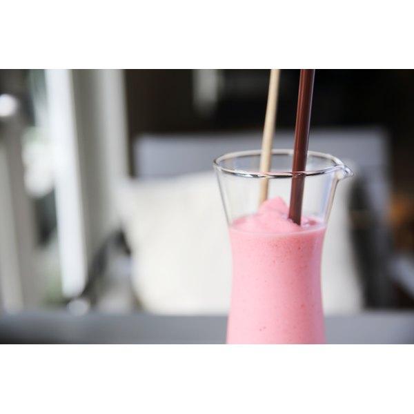 A strawberry milkshake.