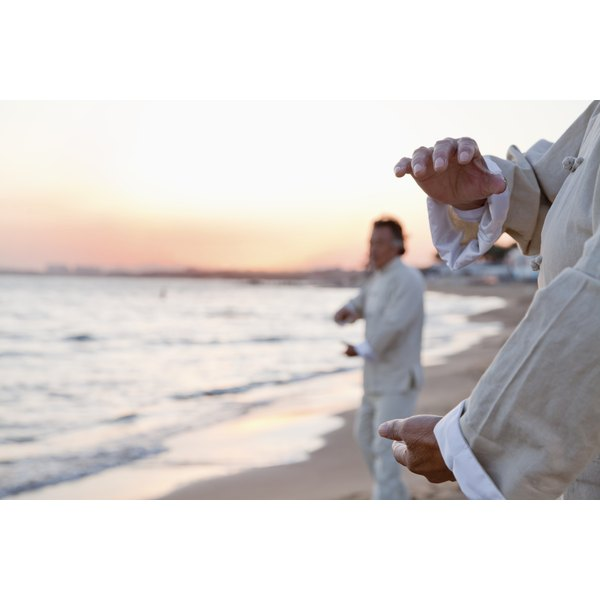 Tai chi may reduce stiffness and have a calming effect.