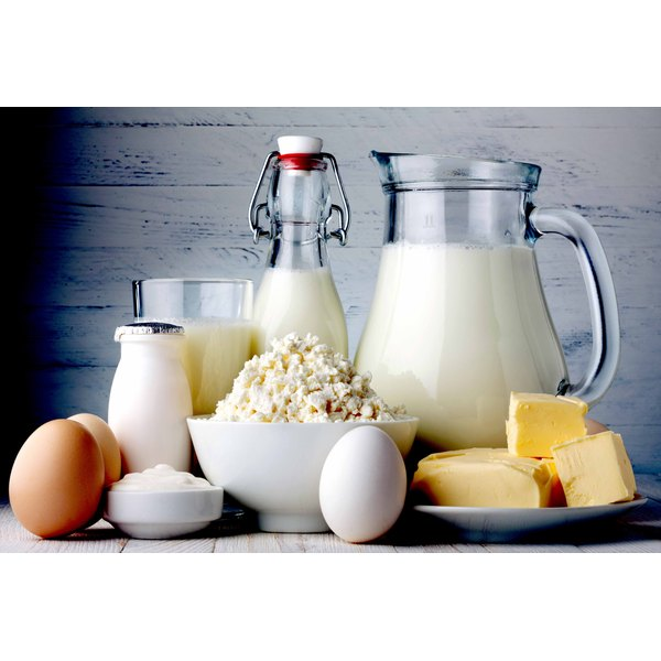 Dairy products made from cow's milk pose problems for people with GERD.