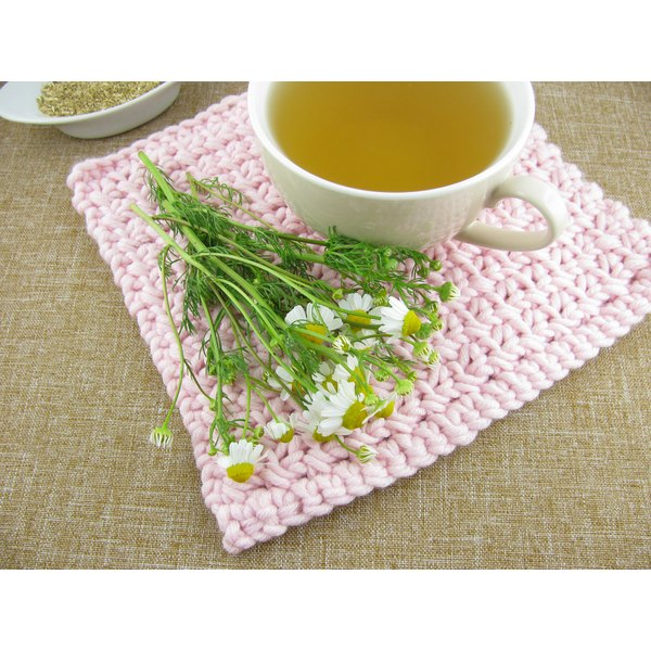 Chamomile flowers display mild diuretic properties.