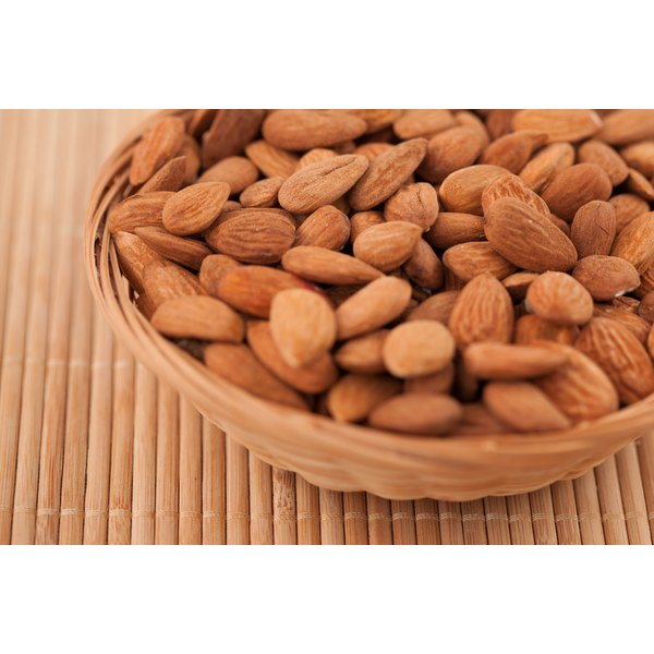 Almonds contain good amounts of boron.