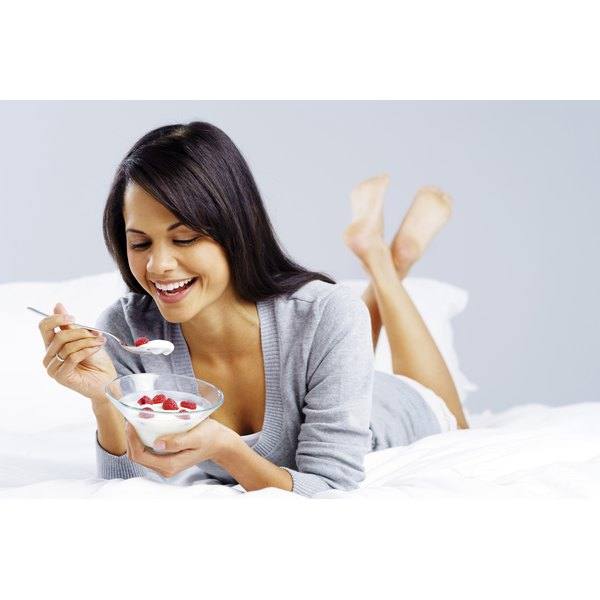 Yogurt with live cultures may contain different types of lactobacilli.