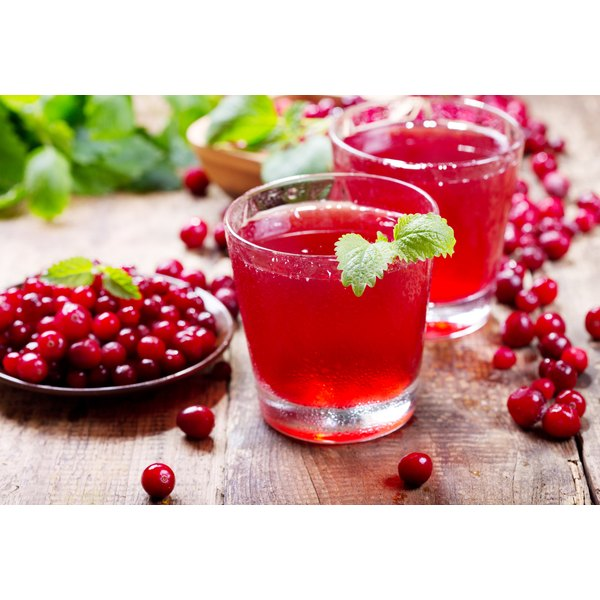 Try cranberry juice to alleviate your headache symptoms.