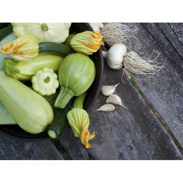 Choose firm, bright-colored zucchini with smooth skin free of blemishes.