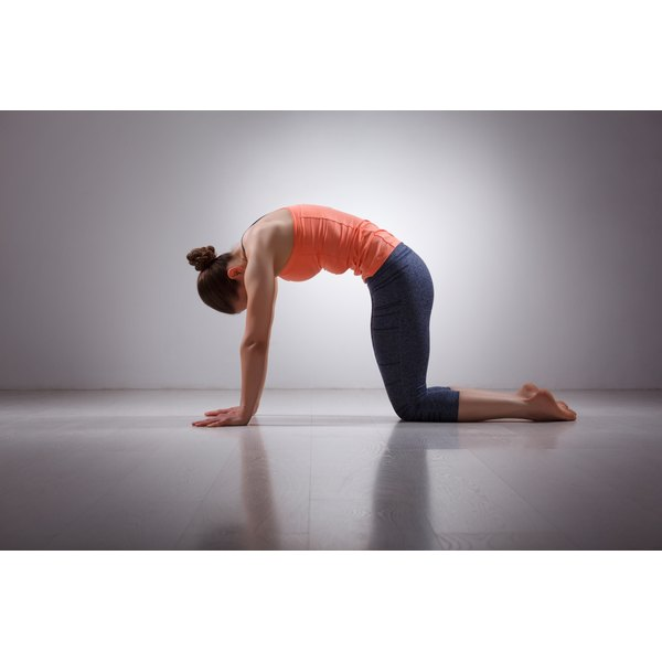 Gentle yoga poses are recommended for people with high blood pressure.