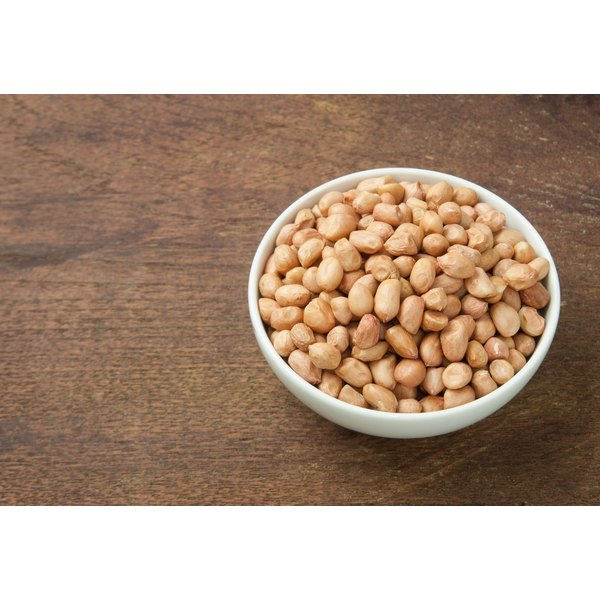 Eat peanuts in moderation to keep your calorie and fat levels under control.