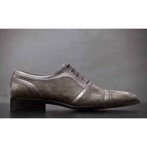 Man's leather shoe.