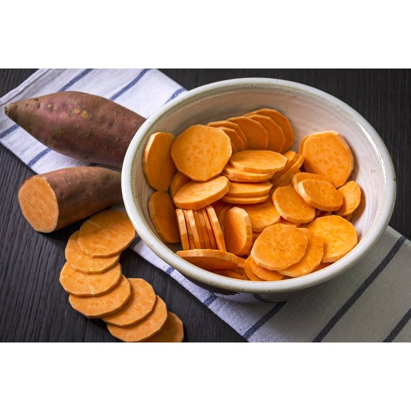 High in starch and nutrients, sweet potatoes make a healthy weight-gain food.