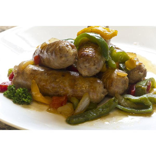 Cook sausage with low-carb veggies for a one-pot meal.