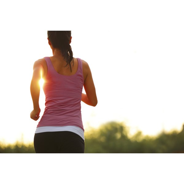 Sunscreen is essential when you're running outdoors.