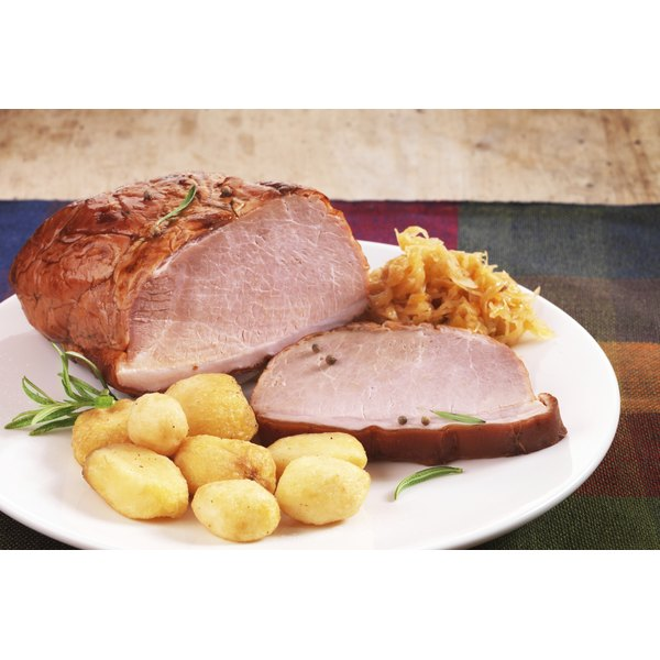 Pork loin is an easy dinner option.