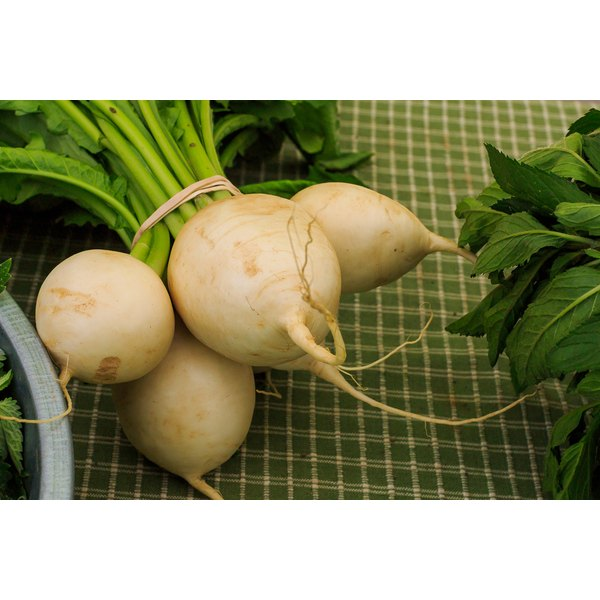 Choose turnips that have the smoothest skin.
