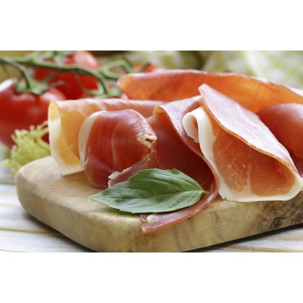 Always serve prosciutto at room temperature.