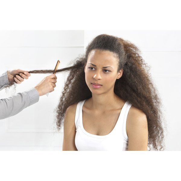 There are many brands of relaxer available to straighten curly and kinky hair.