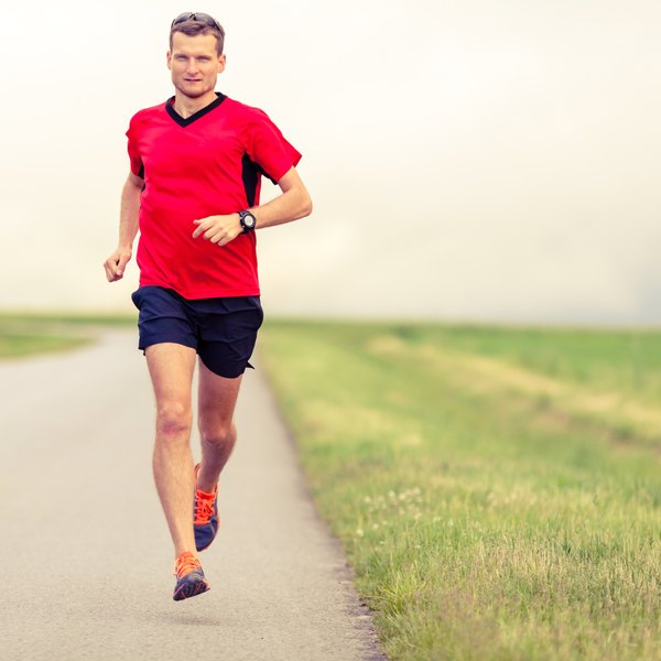 If you're worried about your fertility, stick to a moderate amount of running.