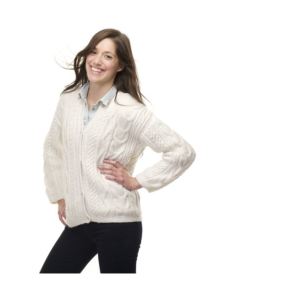 Don't let shoulder bumps cramp your sweater style.