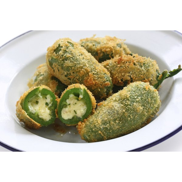 A bowl of jalapneo poppers.