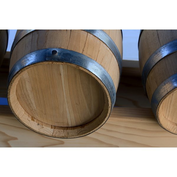 Barrels of vinegar