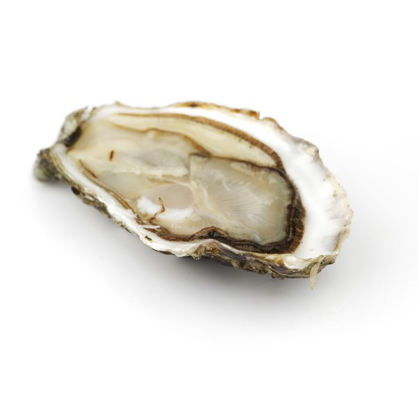 Raw oysters have zinc.