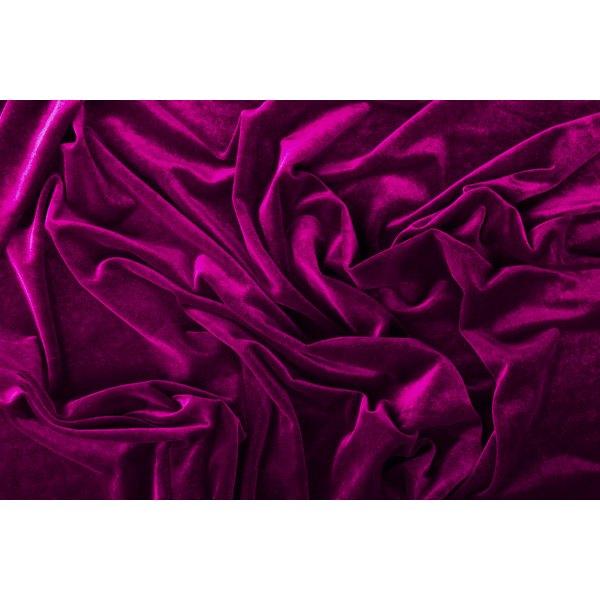 Velvet fabric likely originated in China.
