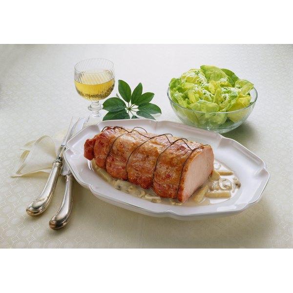 how to cook a pork loin center roast boneless