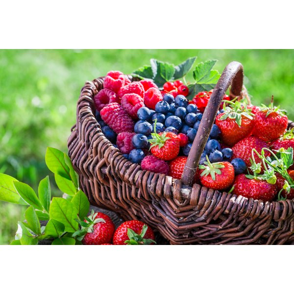 Berries are low in carbs and high in fiber.