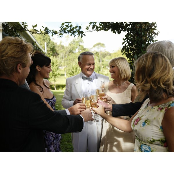 Give a wedding toast your son will remember.