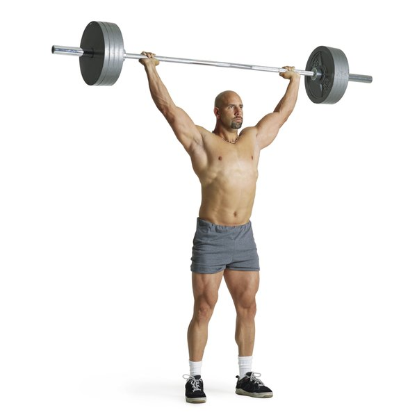 Olympic weightlifting bars can hold more weight.