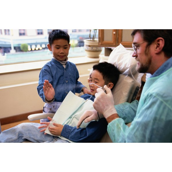 Children should first visit the dentist at an early age.