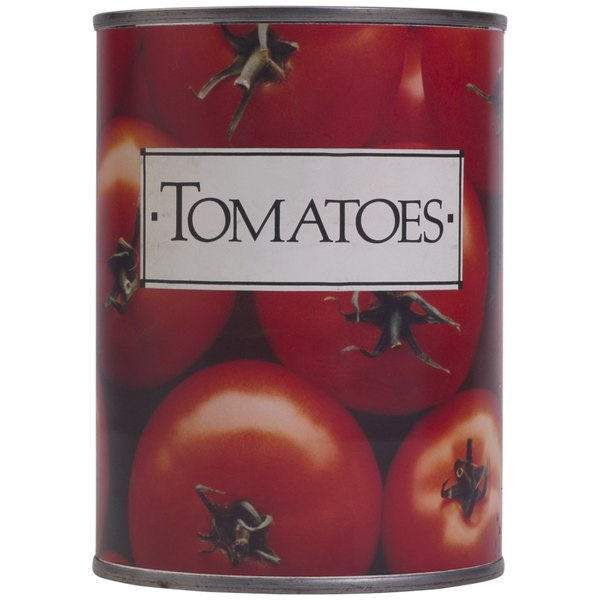 Look for low-sodium canned tomatoes to reduce the salt in your recipes.