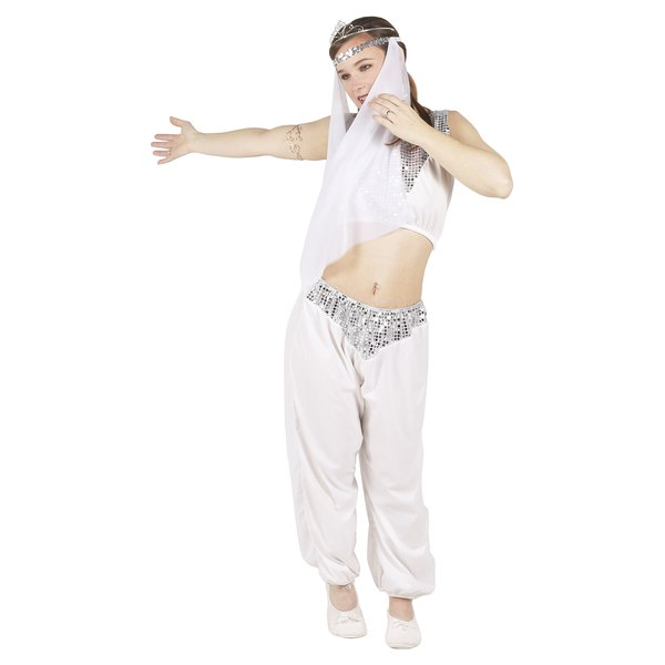 Make your teen look like a heavenly genie with an innocent white costume.
