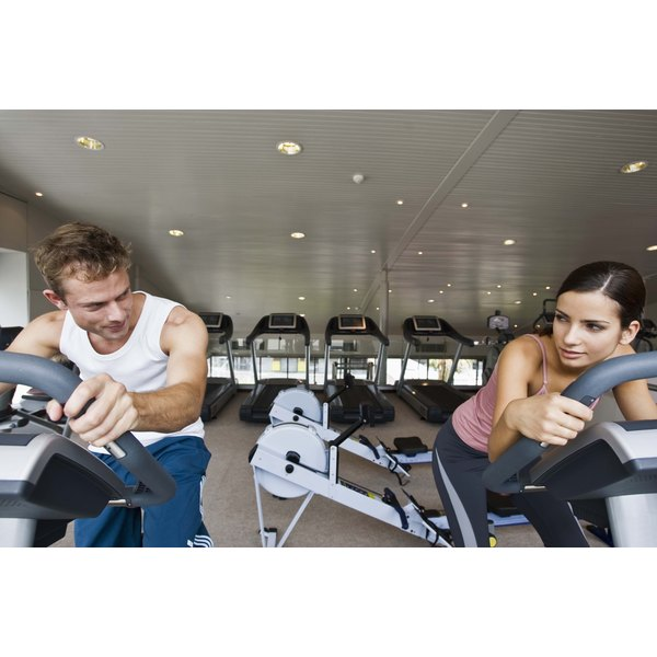 Regular use of exercise equipment contributes to weight loss.