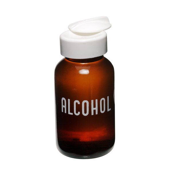Use rubbing alcohol to remove bacteria present on needles or tweezers.