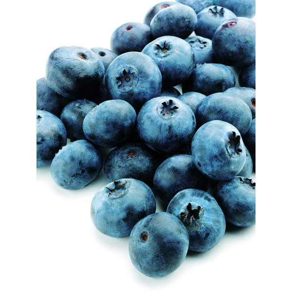 Blueberries and grapes both contain beneficial vitamin K.