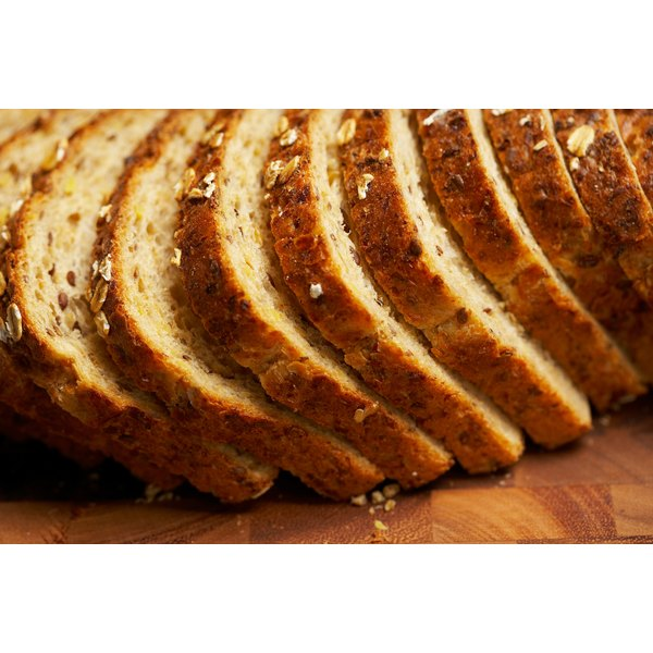 Whole grain breads contain thiamine.