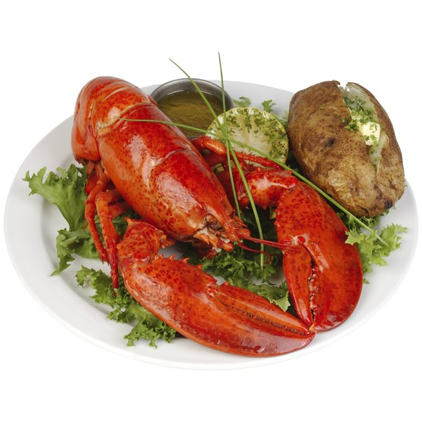 Lobster is a great main dish to serve your friends for dinner.