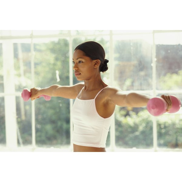 Weightlifting benefits women's health.