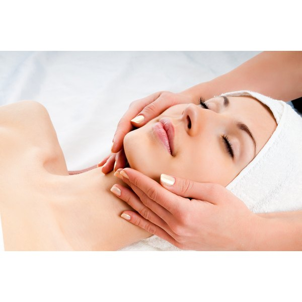 An aromatherapy facial is good for your skin and your mind.