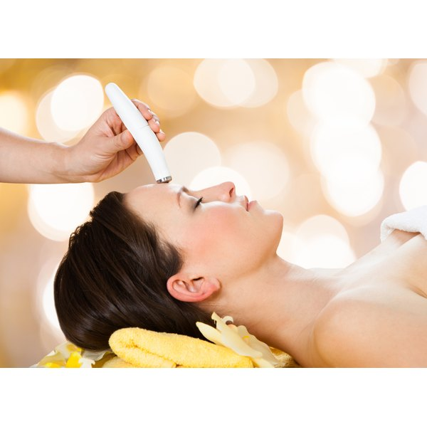 Microdermabrasion can help erase acne scars.