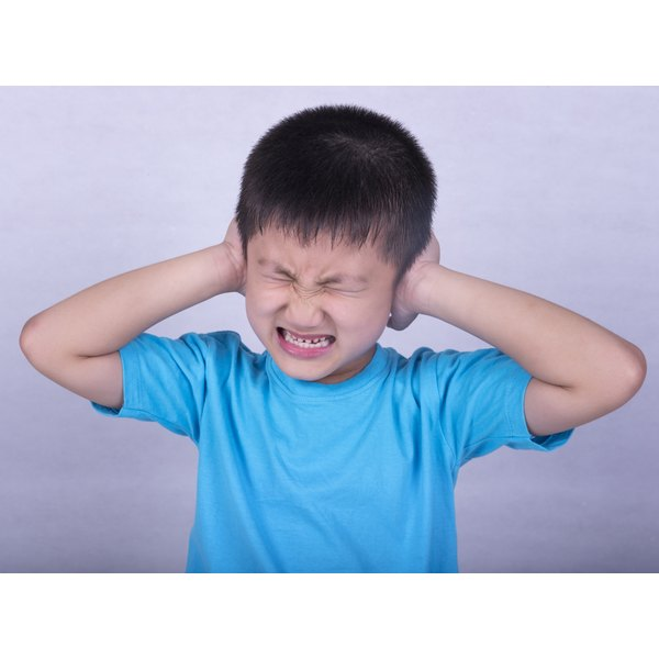 Many earaches that awaken children come from middle ear infections.