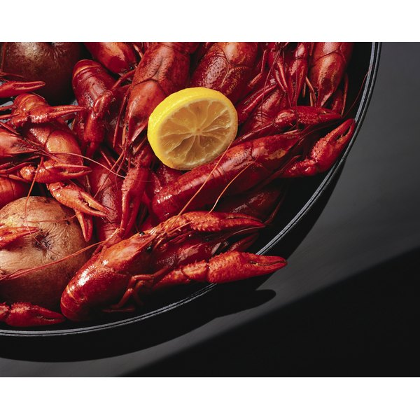 Cooked crawfish can be gently reheated.