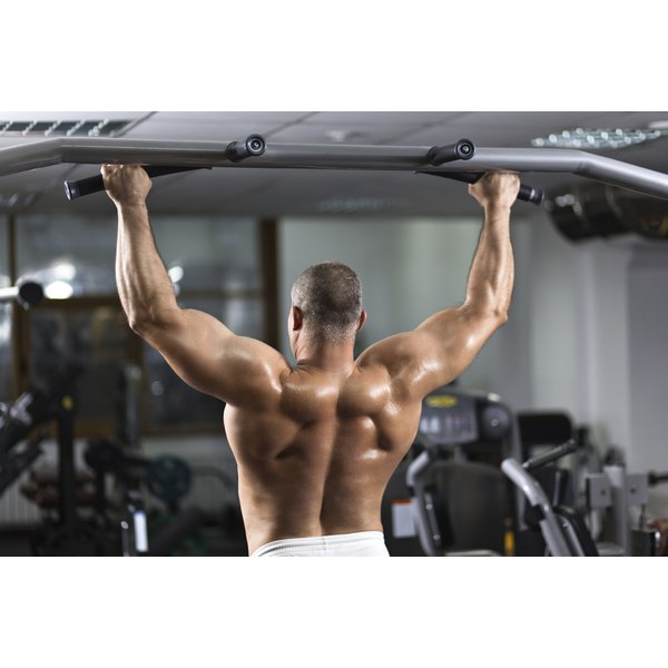 The overhead position of your arms during pull-ups can lead to injury and tingling.